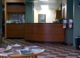 Doctor's receptionist misses the point of coming in a little early
