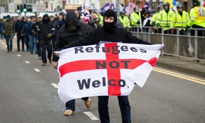 Brexit racism against refugees.