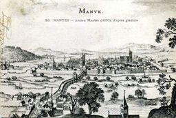 Mantes la Jolie circa 1650