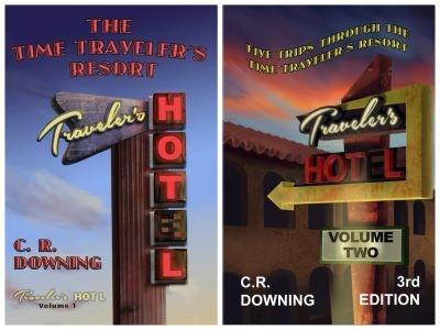 Time Traveler's Resort book covers