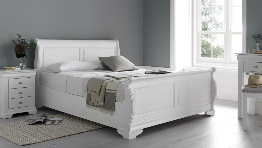 Sleigh Beds Sleigh Bed Frames Time4sleep
