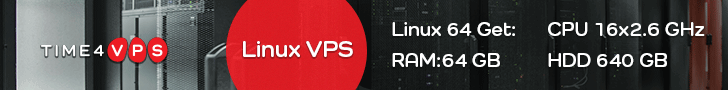Time4vps.eu advert