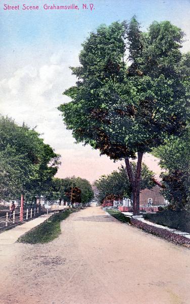 Street Scene, Grahamsville