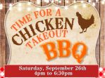 Chicken Takeout BBQ Tickets