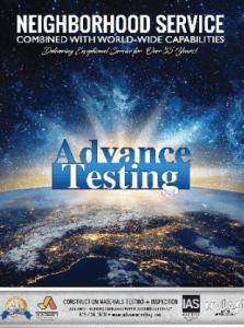 advance testing