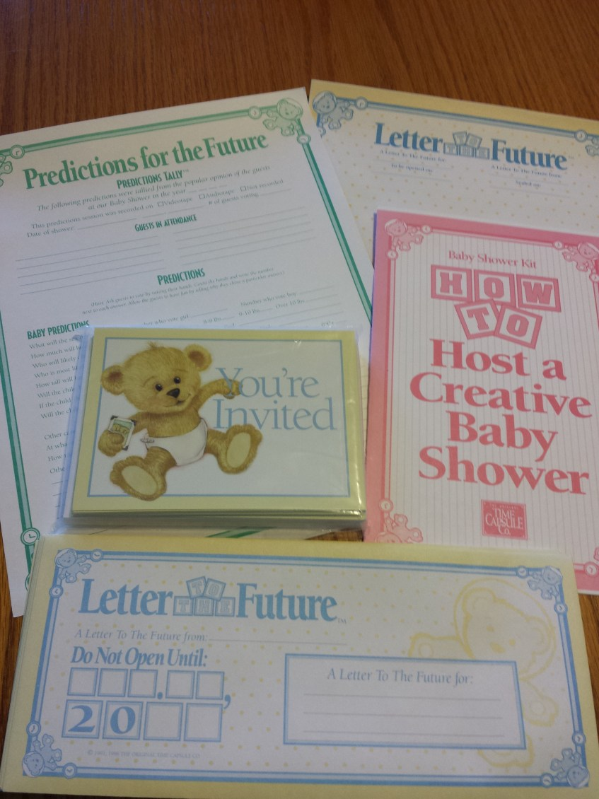 Baby Time Capsule On Pinterest: Time Capsule Baby Shower