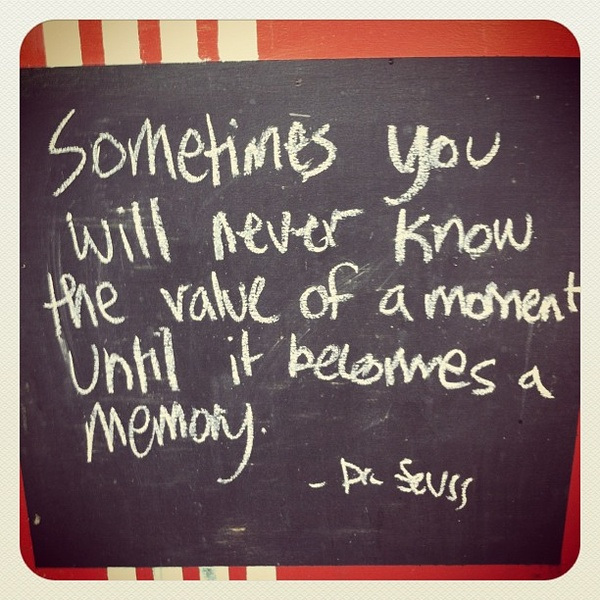 Time Capsule Dr. Seuss quote