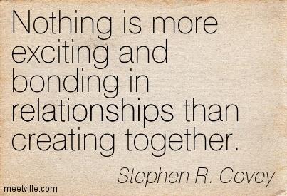 Stephen Covey Bonding Quote