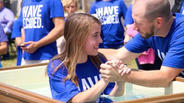 Church Time Capsule Ideas - Baptism Milestone Moment