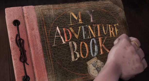 Up - My Adventure Book