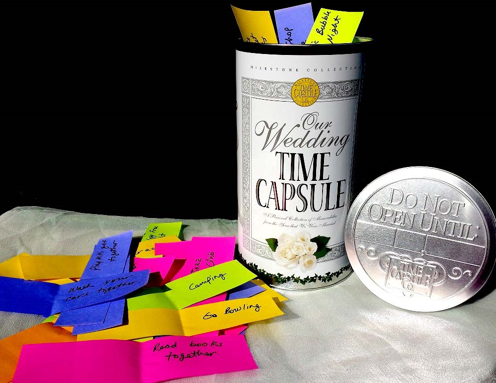 Wedding Time Capsule with Date Ideas