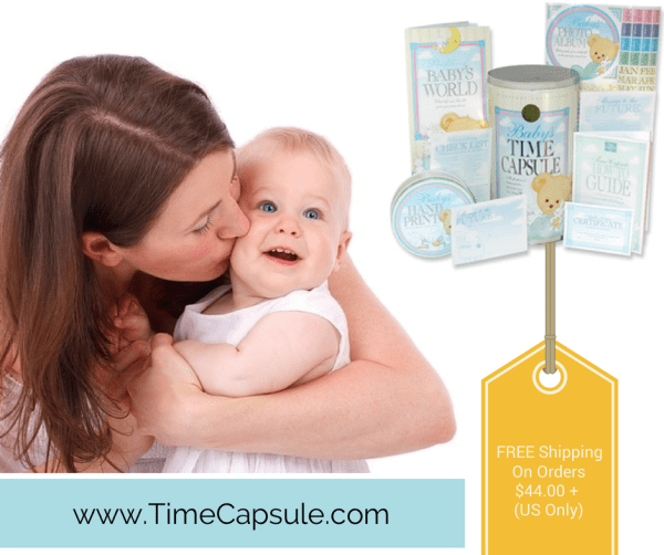 Family Vacations - Baby Time Capsule
