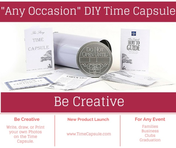 Family History - Any Occasion DIY Time Capsule - Be a Part of History