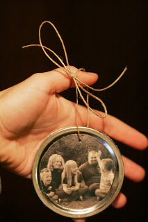 Creative Ways to Save Money - Canning Lid Ornament