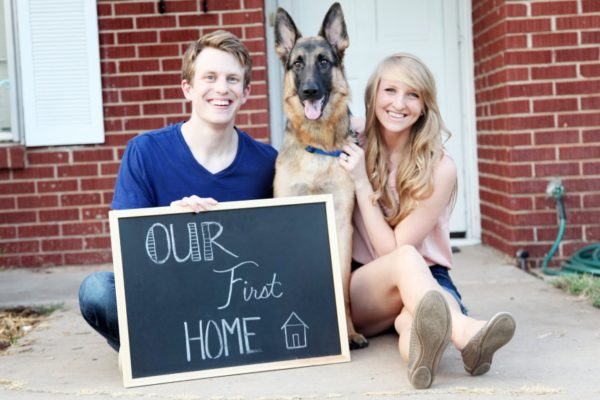 Housewarming Gift - New Home or First Home - with Dog
