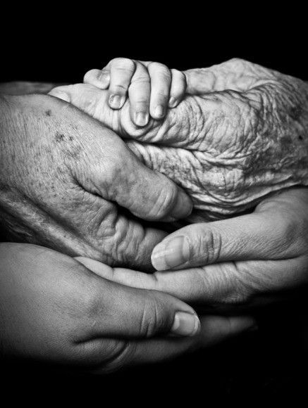 Differences between Generations - Hands
