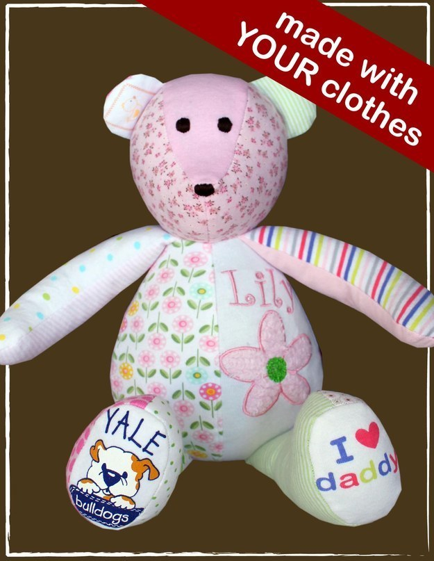 Recycle old baby clothes - 2 Bear