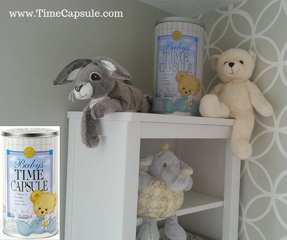Home Keepsakes - Baby Time Capsule