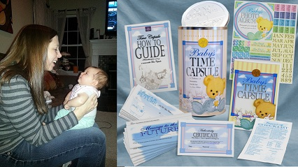 New Year's Baby Time Capsule