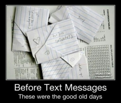 Remember the 80s - Texting