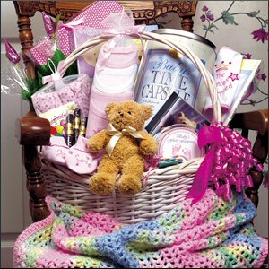 Baby Gift Basket Ideas Time Capsule Company
