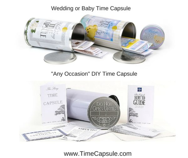 Wedding or Baby Time Capsule