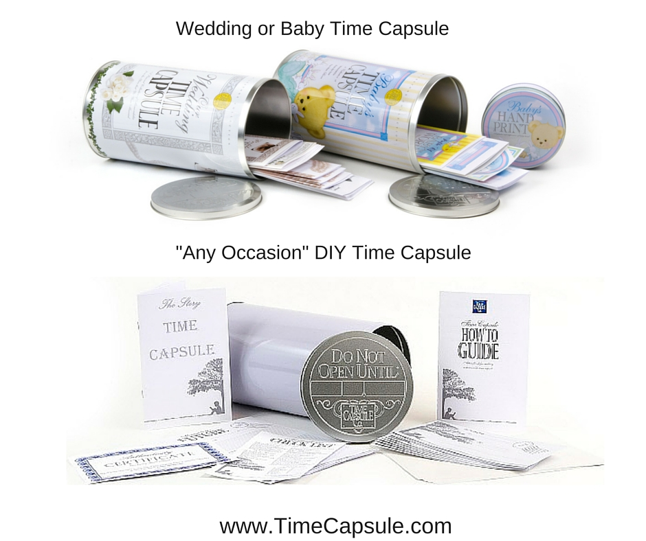 Wedding or Baby Time Capsule
