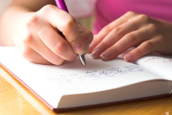Journal Therapy writing