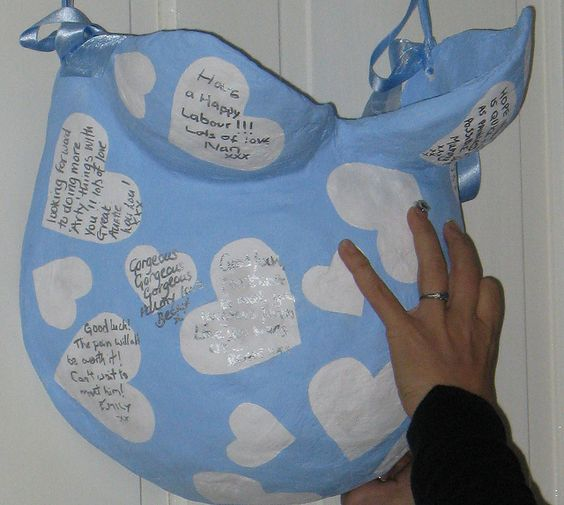 Meaningful Baby Shower Gifts - Baby Bump Cast