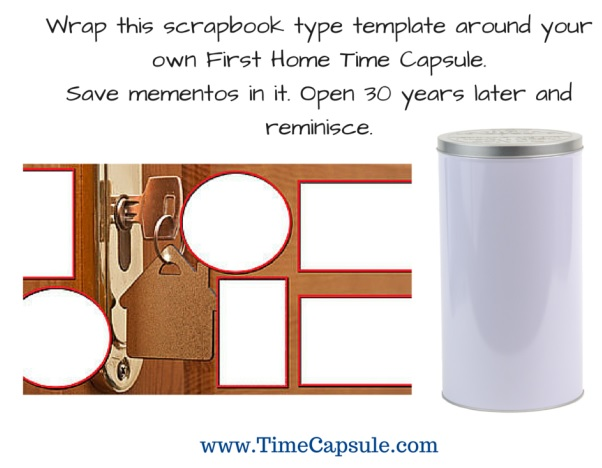 Time Capsule for the home - Template