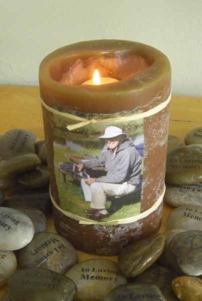 After Funeral Ceremony - Candle