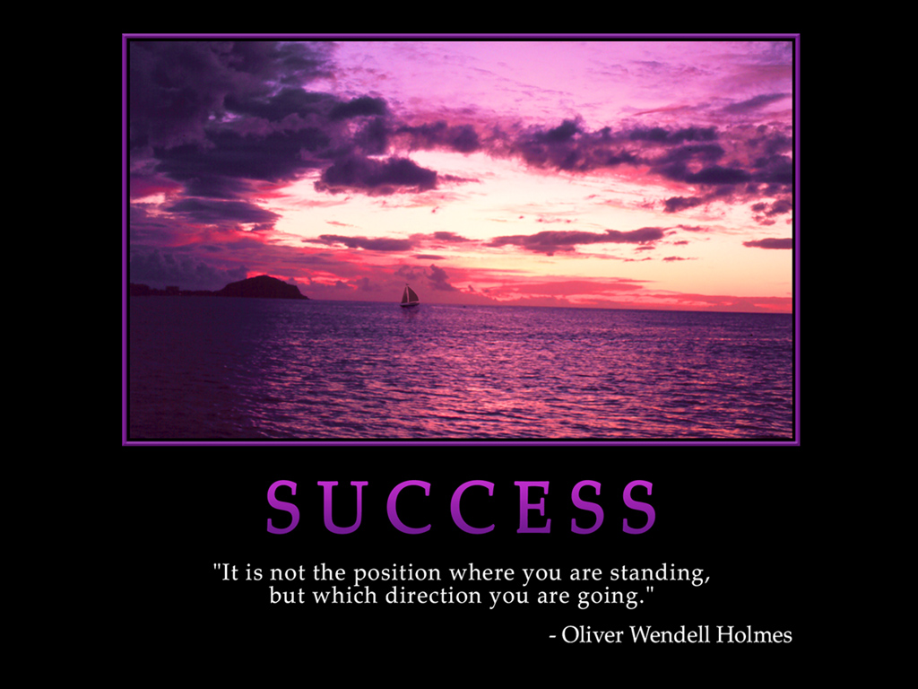 Business Life Lessons - Success Quote