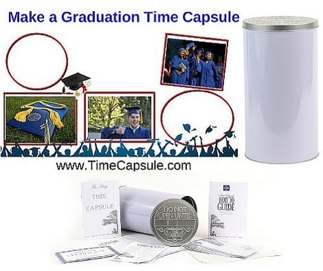 Graduation - DIY Time Capsule Idea