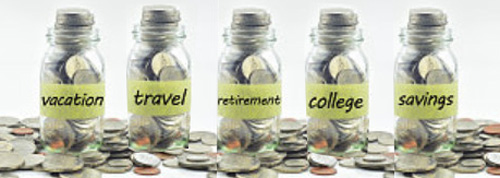 Preserve Family Financial Information - Money Saving Jars