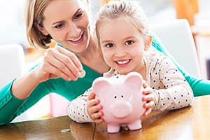 Preserve Family Financial Information - Piggy Bank