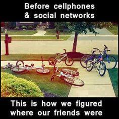 Record Childhood Memories - Bikes in Yard