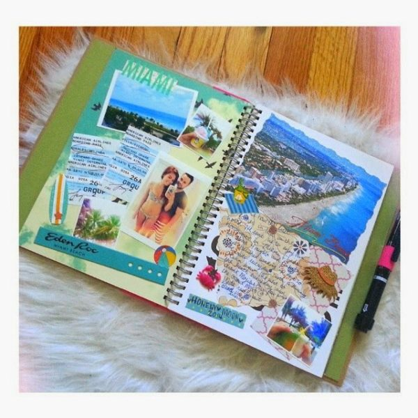 Honeymoon Memories to Save - Scrapbook