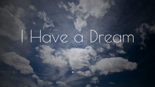 Restore a Dream - I have a dream