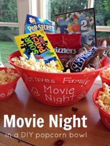 DIY Gift Ideas - Movie Night