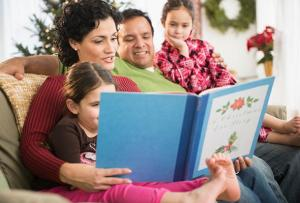 Family Traditions to Pass On - Reading Stories to Children