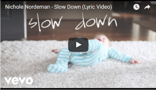 Slow Down Your Children From Growing Too Fast -- Nichole Nordeman Song Video