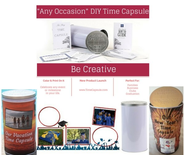 Meaningful Personalized Gifts - Any Occasion DIY Time Capsule