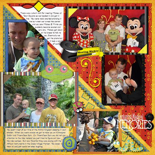 Photo Album Pages - Disney