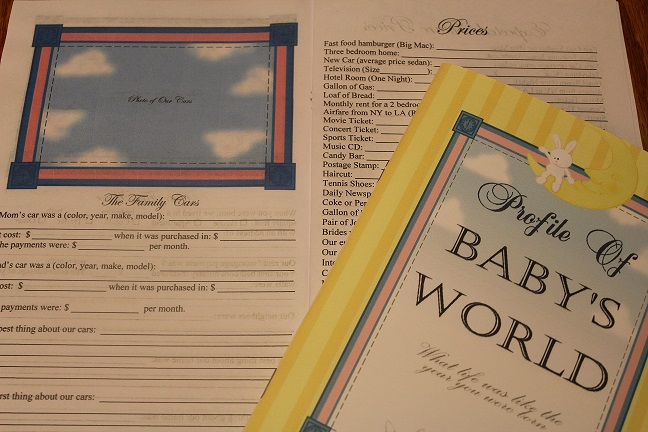 Profile Book of the World - Baby