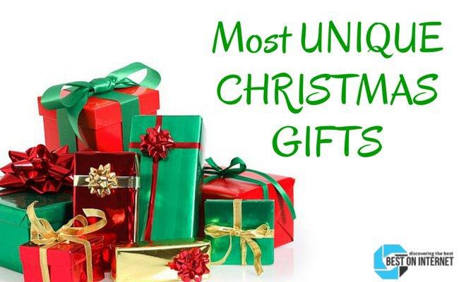 Online unique christmas gifts