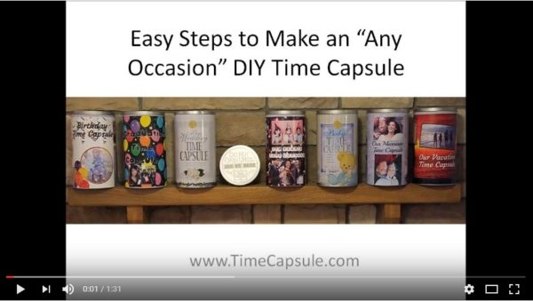 No Cell Phone Fun - Make a Family Time Capsule