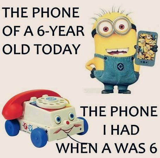 No Cell Phone Fun - Minions