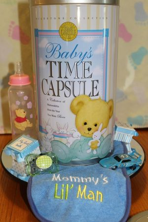Baby TC up close with Items