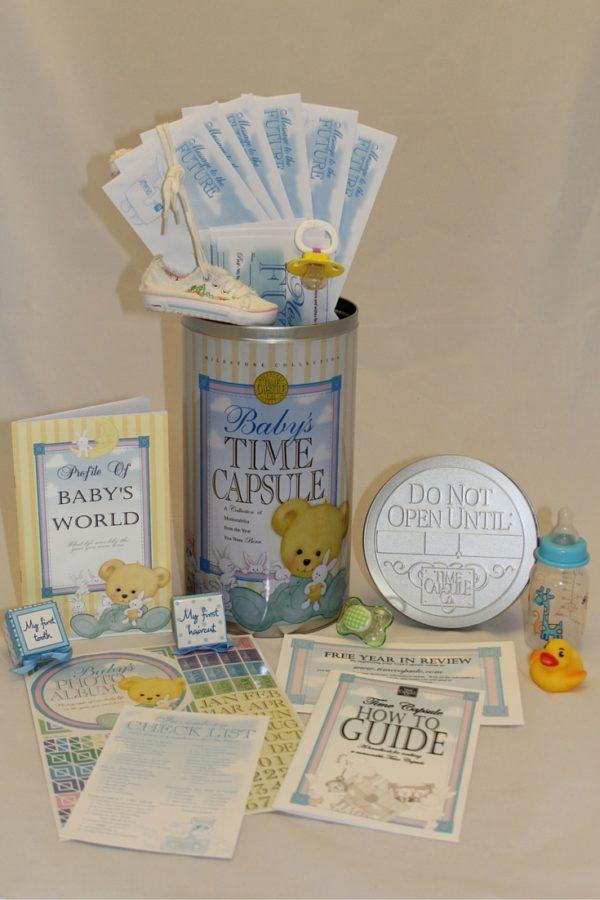 Save Mementos - Baby Time Capsule