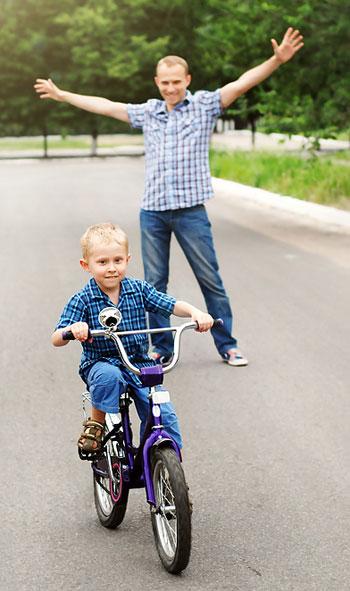 Perseverance - Riding a bike